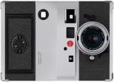 Обложка на паспорт с уголками, фотоаппарат Leica
