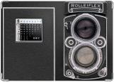 Обложка на паспорт с уголками, фотоаппарат Rolleiflex