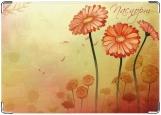 Обложка на паспорт с уголками, Flowers