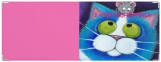 Обложка на зачетную книжку, Кот и мышка