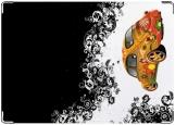 Обложка на автодокументы с уголками, жук