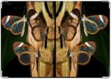 Обложка на паспорт с уголками, бабочки