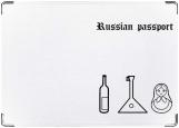 Обложка на паспорт с уголками, Russian passport