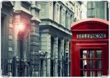 Обложка на автодокументы с уголками, Лондон