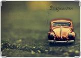 Обложка на автодокументы с уголками, Car