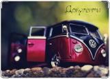 Обложка на автодокументы с уголками, VW