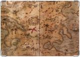 Обложка на паспорт с уголками, Карта сокровищ