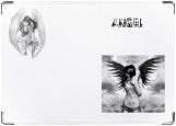 Обложка на автодокументы с уголками, Ангел