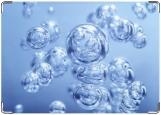 Обложка на паспорт с уголками, пузырики