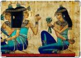Обложка на паспорт с уголками, папирус