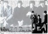 Обложка на паспорт с уголками, The Beatles