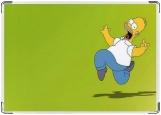 Обложка на паспорт с уголками, Homer Simpson