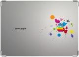 Обложка на паспорт с уголками, apple 2