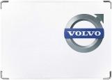 Обложка на автодокументы с уголками, volvo