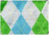 Обложка на паспорт с уголками, Модный свитер