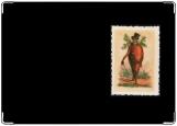 Обложка на автодокументы с уголками, Мистер Морковь