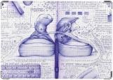 Обложка на паспорт с уголками, Кедики