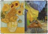 Обложка на автодокументы с уголками, Ван Гог