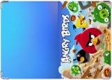 Обложка на паспорт с уголками, Angry birds 4