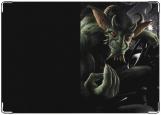 Обложка на автодокументы с уголками, Goblin