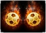 Обложка на права, Пламенный мяч