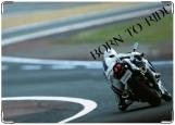 Обложка на автодокументы с уголками, Born to ride 2